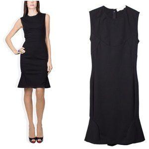 EUC Stella McCartney Black Jersey Pencil Dress